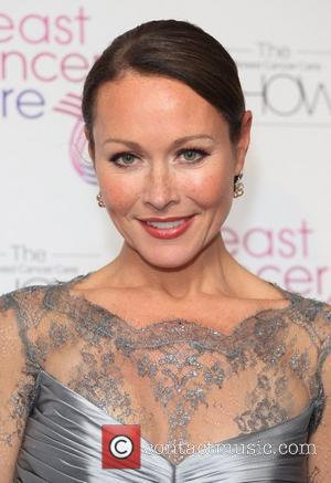 Amanda Mealing Breast Cancer Cares London Fashion Show held at Grosvenor House London, England - 03.10.12