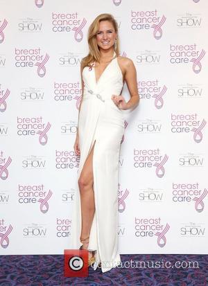 Kimberley Garner Breast Cancer Cares London Fashion Show held at Grosvenor House London, England - 03.10.12