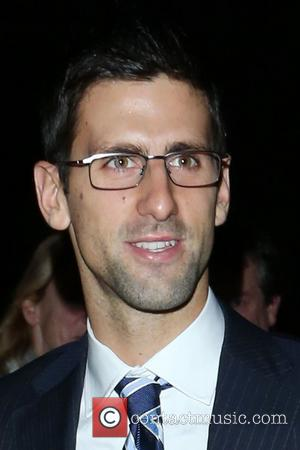 Novak Djokovic,  at the Barclays ATP World Tour Finals Gala held at the Royal Courts of Justice. London, England...