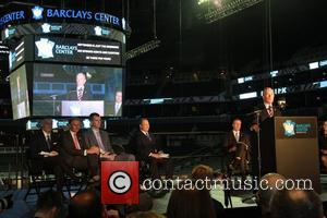 Mayor Michael Bloomberg Ribbon cutting ceremony for the new Barclays Center in Brooklyn, New York New York City, USA -...
