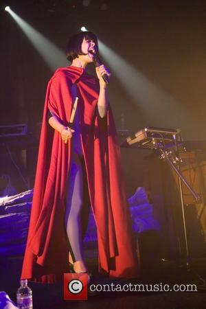 Bat for Lashes aka Natasha Khan performs live at the O2 ABC Glasgow Glasgow, Scotland - 21.10.12