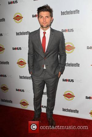 Adam Scott  at the premiere of RADiUS-TWC's 'Bachelorette' at ArcLight Cinemas Hollywood, California - 23.08.12