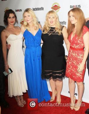 Lizzy Caplan, Kirsten Dunst, Rebel Wilson, Isla Fisher  at the premiere of RADiUS-TWC's 'Bachelorette' at ArcLight Cinemas Hollywood, California...