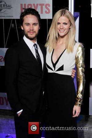 Taylor Kitsch and Brooklyn Decker  The Australian premiere of 'Battleship' held at Luna Park  Sydney, Australia - 10.04.12