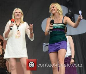 Anneka Rice and Jo Whiley