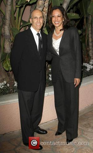 Jeffrey Katzenberg and guest The 21st annual Children's Defense Fund California 'Beat The Odds' Awards at The Beverly Hills hotel...