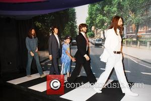 George Harrison, Paul McCartney, Ringo Starr, John Lennon Wax figures of The Beatles are unveiled at Madame Tussauds. The unveiling...