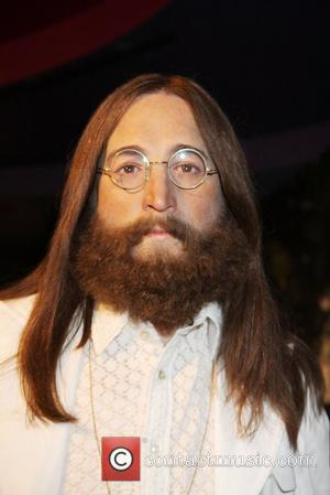 John Lennon wax figure Wax figures of The Beatles are unveiled at Madame Tussauds. The unveiling comes days before Paul...