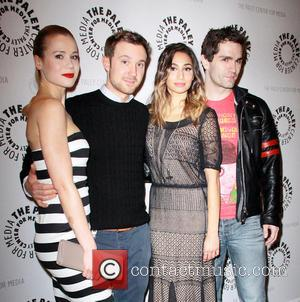 Kristen Hager, Sam Huntington, Meaghan Rath and Sam Witwer