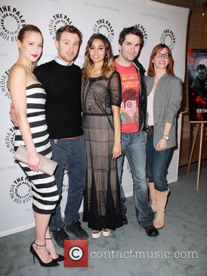 Kristen Hager, Sam Huntington, Meaghan Rath, Sam Witwer and Anna Fricke