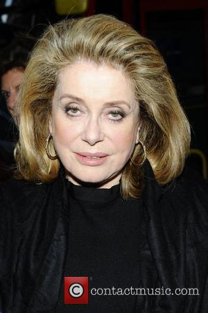 Catherine Deneuve  attends the UK premiere of 'Beloved' at Curzon Soho London, England - 21.03.12