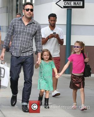 Ben Affleck, Violet and Seraphina