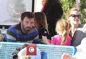 Ben Affleck, Jennifer Garner and Seraphina Affleck