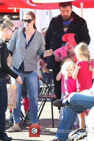 Jennifer Garner, Ben Affleck and Violet Affleck