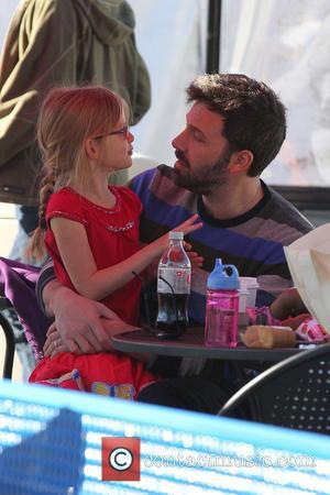 Violet Affleck and Ben Affleck