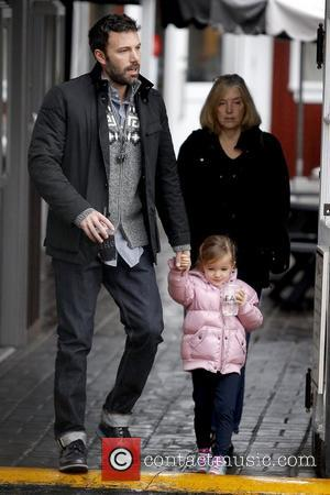 Ben Affleck, Seraphina Affleck and Chris Affleck