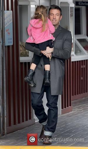 Ben Affleck and Seraphina Affleck