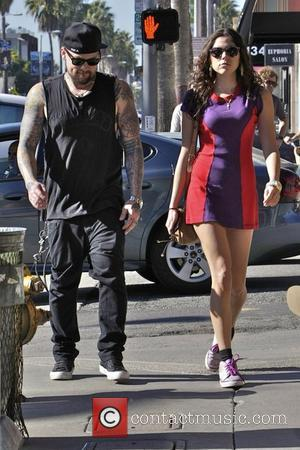 Benji Madden and girlfriend Eliza Doolittle  heading to lunch at Gjelina Restaurant in Venice Los Angeles, California - 04.01.12