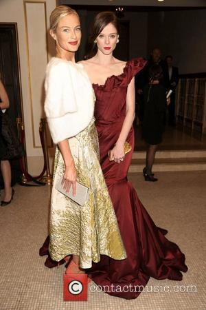 Carolyn Murphy and Coco Rocha  Bergdorf Goodman 111th Anniversary held at the Plaza Hotel - InsideNew York City, USA...