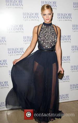 Erin Heatherton  attends the Bergdorf Goodman 111th Anniversary event  New York City, USA 18.10.12