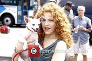 Bernadette Peters attends Gray Line New York's Ride of Fame campaign at Pier 78.  New York City, USA –...