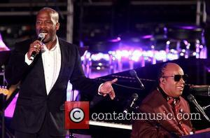 Bebe Winans and Stevie Wonder