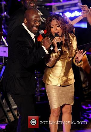 Bebe Winans and Valerie Wonder BET 2012 UN Day 'A Message of Peace' concert, held at the UN Headquarters New...