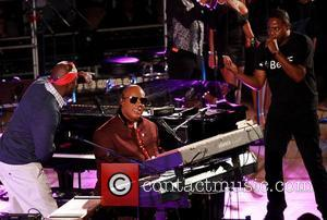 Doug E Fresh, Wyclef Jean and Stevie Wonder