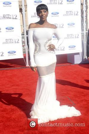 Dawn Richard ,  The BET Awards 2012 - Arrivals Los Angeles, California - 01.07.12