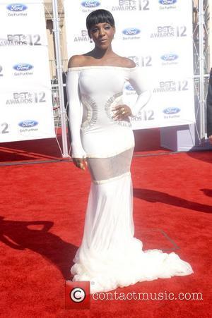Dawn Richard ,  The BET Awards 2012 - Arrivals Los Angeles, California - 01.07.12
