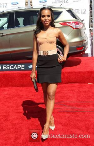Kerry Washington 2012 BET Awards - Arrivals held at The Shrine Auditorium Los Angeles, California - 01.07.12