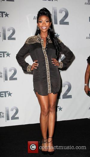 Brandy Norwood  The BET Awards 2012 - Press Room Los Angeles, California - 01.07.12