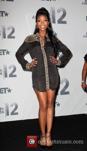 Brandy Norwood  The BET Awards 2012 - Press Room Los Angeles, California - 01.07.12