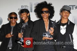 Prineton, Roc Royal, Ray Ray, Prodigy Of Mindless Behavior  The BET Awards 2012 - Press Room Los Angeles, California...