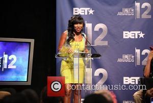 Melanie Fiona  BET Award's 12 Nominations Press Conference at CBS studios  New York City, USA - 22.05.12