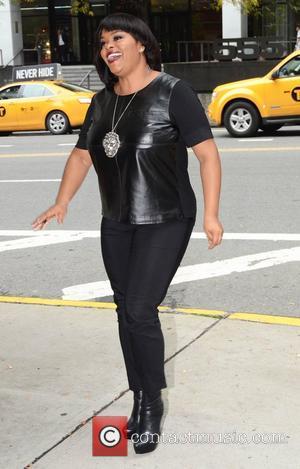 Jill Scott Arrives at BET Studios in Manhattan New York, USA - 03.10.12