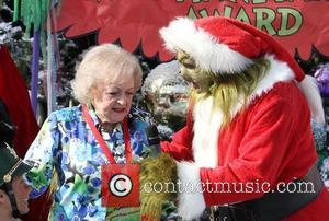 Betty White and The Grinch