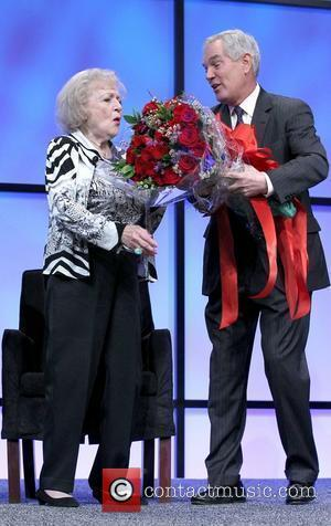 Betty White Betty White Inducted Into The NAB Broadcasting Hall of Fame at NAB Las Vegas Hilton   Las...