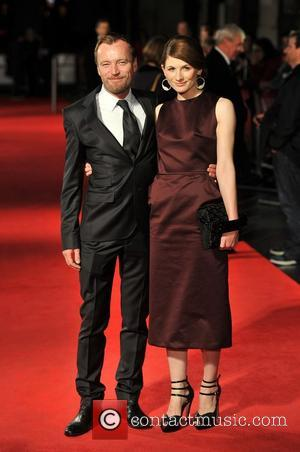 Richard Dormer and Jodie Whittaker 56th BFI London Film Festival: Good Vibrations - gala screening held at the Odeon West...