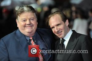 Robbie Coltrane and Ralph Fiennes
