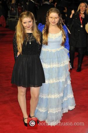 Bebe Cave and Jessie Cave