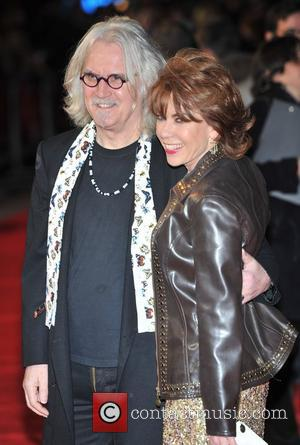 Billy Connolly and Kathy Lette