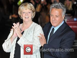 Dustin Hoffman, Dame Maggie Smith 56th BFI London Film Festival: Quartet - American Airlines gala held at the Odeon Leicester...