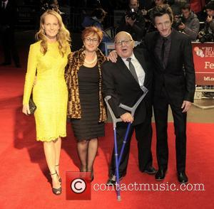 Helen Hunt, Ben Lewin and John Hawkes