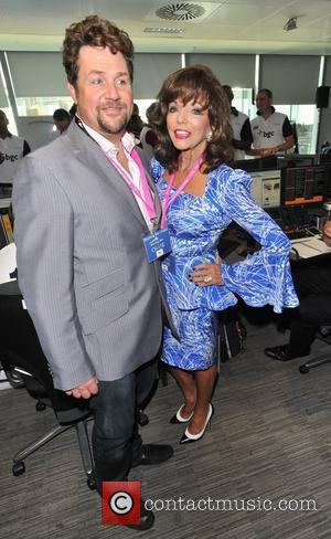 Michael Ball and Joan Collins