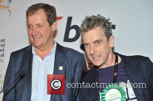 Alastair Campbell and Peter Capaldi BGC Annual Global Charity Day held at Churchill Place. London, England - 11.09.12