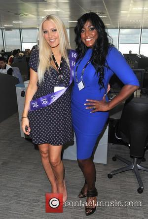 Mica Paris BGC Annual Global Charity Day held at Churchill Place. London, England - 11.09.12