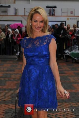 Amanda Holden Falsely Congratulates 'Pregnant' Woman