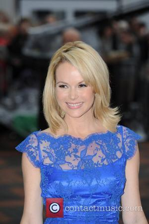Amanda Holden arriving at the auditions for 'Britain's Got Talent' at the ICC Birmingham, England - 17.02.12