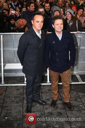 Anthony McPartlin and Declan Donnelly aka Ant and Dec at the 'Britain's Got Talent' auditions at the Hammersmith Apollo London,...